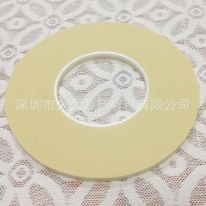 抗油分色胶纸 PU纸鞋材防油纸胶专用 矽利康美纹纸 6mm×140m