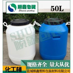 厂家直销 50L塑料提手桶 环保pe化工桶 耐高温腐蚀 塑料化工桶