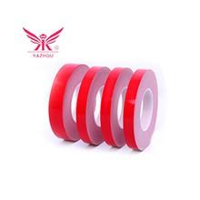 优质美纹纸胶带 高温红色汽车专用喷漆美纹纸胶带