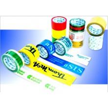 厂家专业定制规格透明印字胶带 米黄色胶带 封箱胶带 淘宝警示语胶带