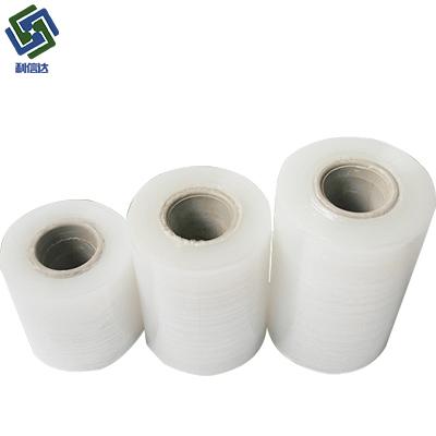 厂家直销pvc电线膜小卷缠绕膜透明 pvc电线膜宽6cm 电线缠绕膜8cm