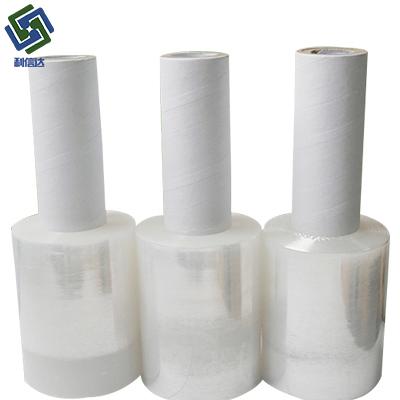 厂家直销电线膜pvc缠绕膜 宽6cm透明自粘电线膜 缠绕电线膜批发